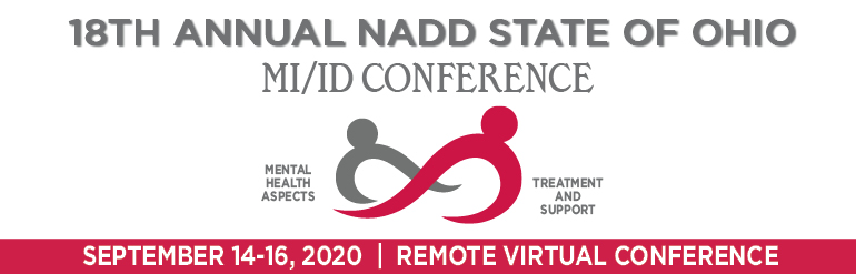 18th Annual NADD State of Ohio MI/ID Conference