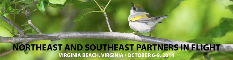 Call for Presentations:  Northeast/Southeast Partners in Flight Bird Conservation Conference
