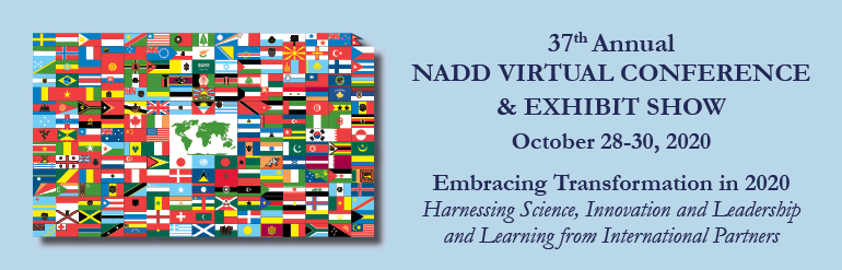37th Annual NADD Conference & Exhibit Show Attendee Registration