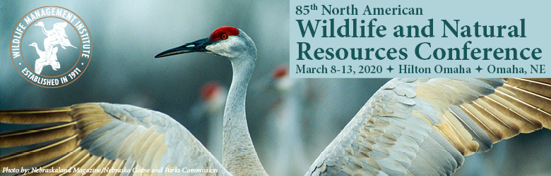 Partner & Exhibitors:  85th North American Wildlife and Natural Resources Conference