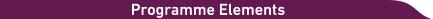 Progamme element banner