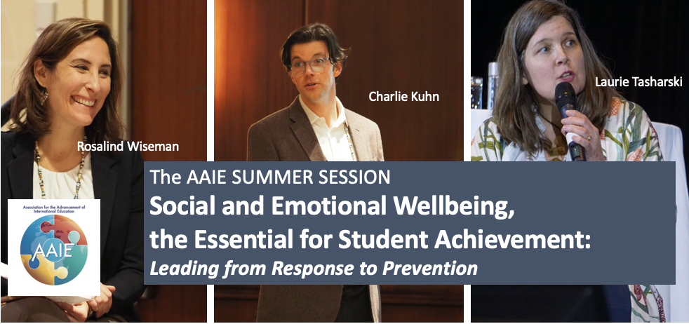 Social and Emotional Wellbeing, the Essential for Student Achievement: Leading from Response to Prevention
