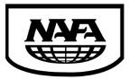 NAFA Logo B&W
