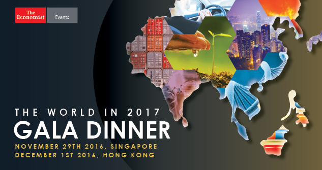 The World in 2017 Gala Dinner: Singapore