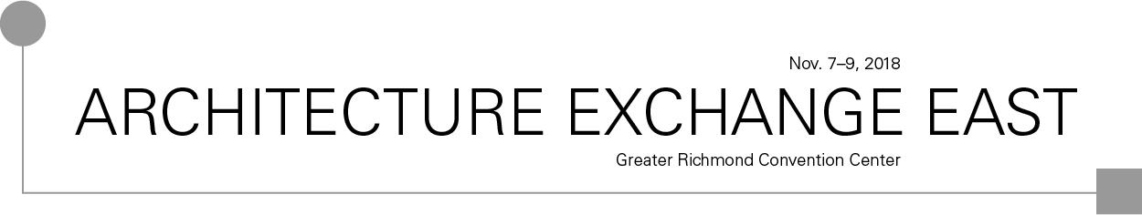 Architecture Exchange East 2018