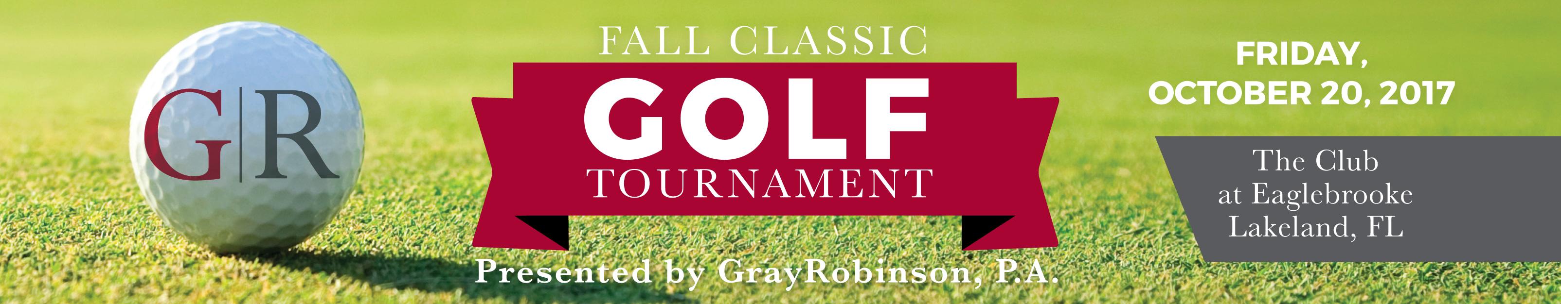 GrayRobinson Lakeland Fall Classic Golf Tournament