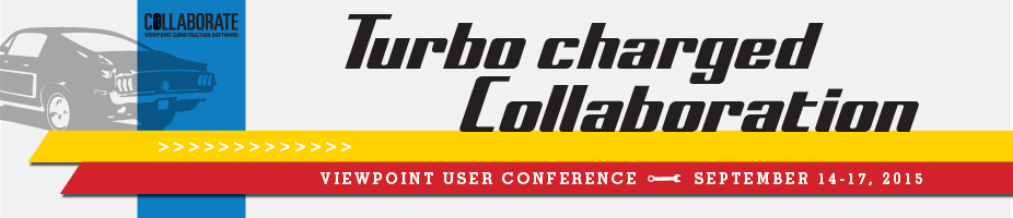 Collaborate 15 | Viewpoint User Conference