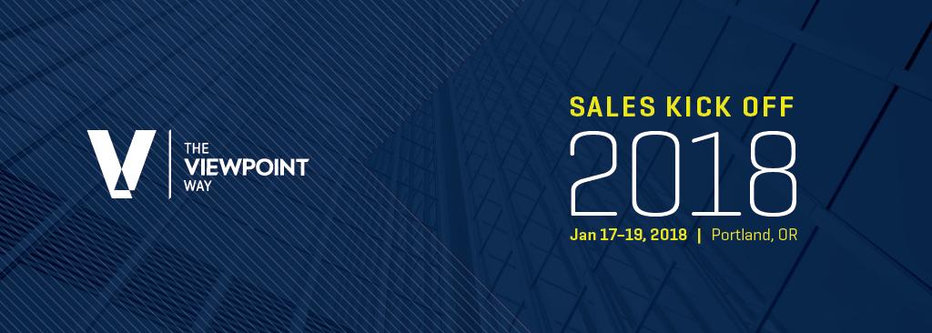 2018 Sales Kick Off