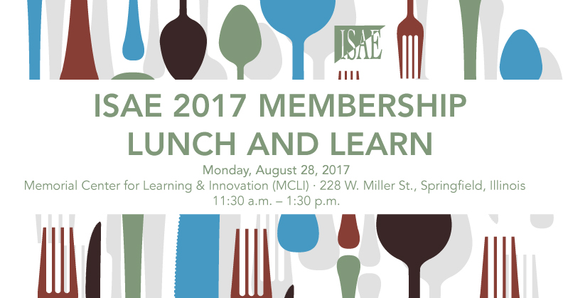 ISAE 2017 August Luncheon