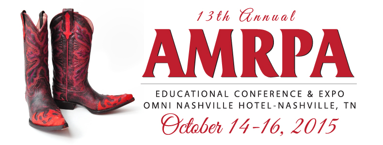 2015 AMRPA 13th Annual Educational Conference and Expo