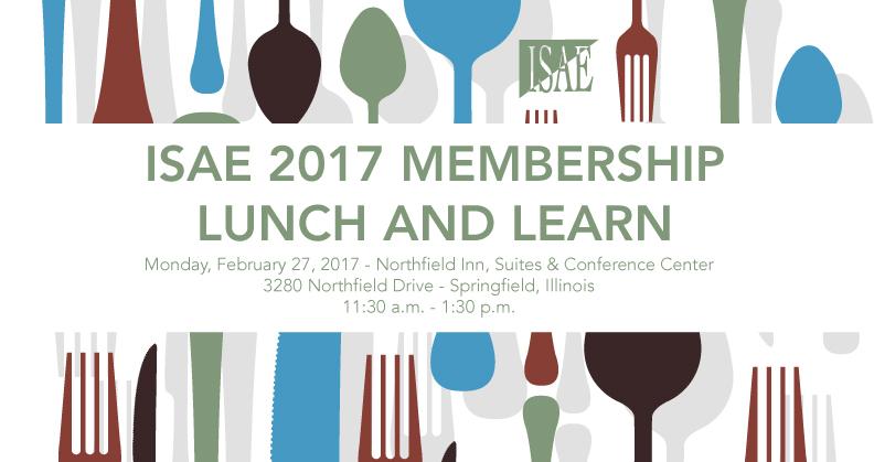 ISAE 2017 February Luncheon