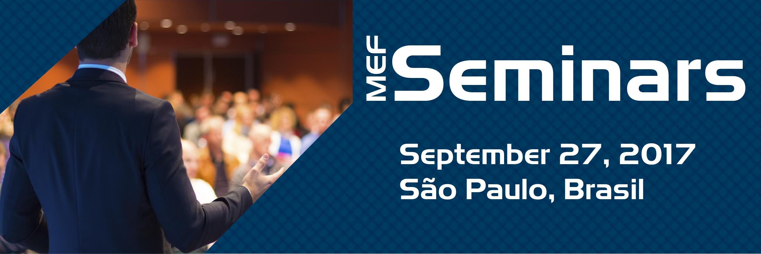 MEF Seminar Sao Paulo