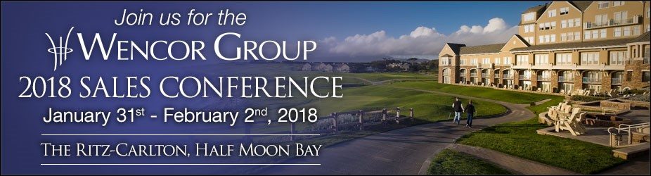 2018 Sales Conference banner image