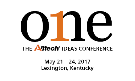ONE: The Alltech Ideas Conference