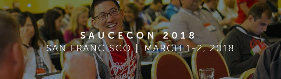 SauceCon 2018