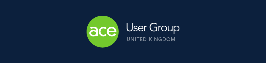 ACE User Group - UK