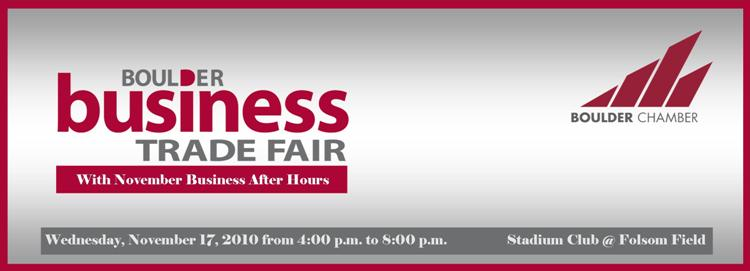 Boulder Business Trade Fair w/ November Business After Hours