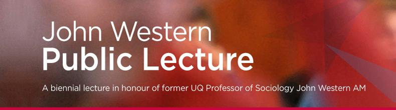 John Western Public Lecture