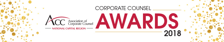 2018 Annual Corporate Counsel Awards Reception - Sponsor Registration