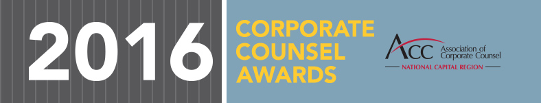 2016 Corporate Counsel Awards Reception
