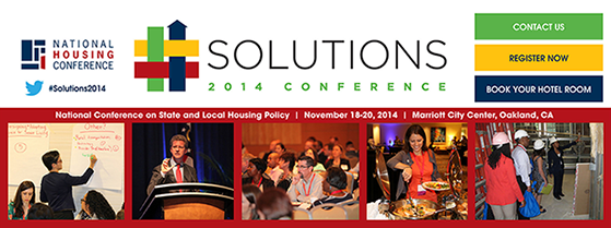 Solutions 2014 National Conference on State and Local Housing Policy