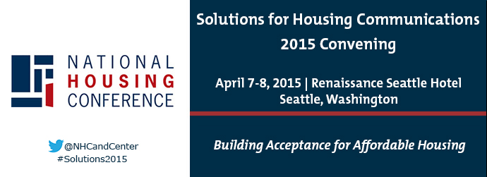 Solutions for Housing Communications 2015 Convening