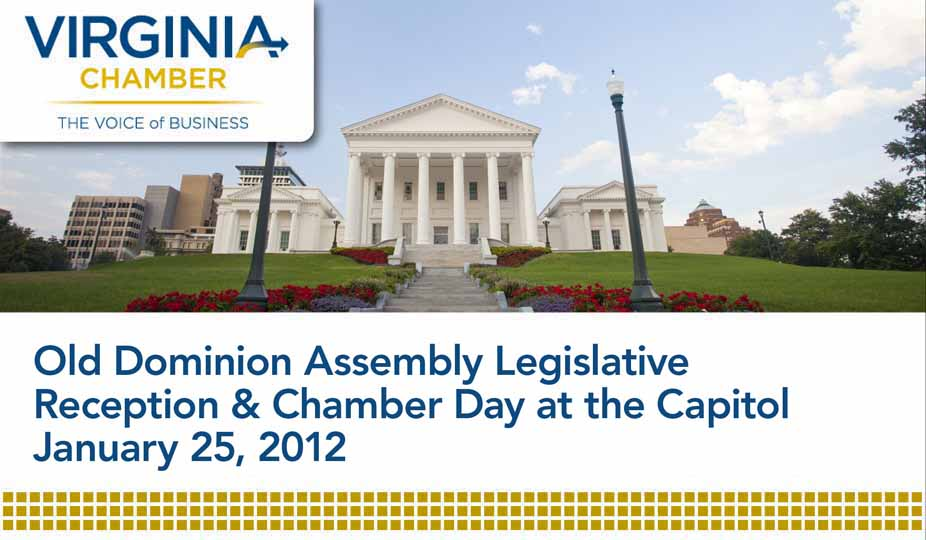 2012 Old Dominion Assembly Legislative Reception & Chamber Day at the Capitol