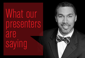 Dwight Carter- Tile 17-What presenters are saying