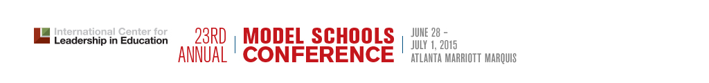 2015 Model Schools Conference