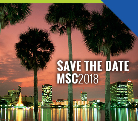 Save the date. MSC 2018. June 24-27, 2018.