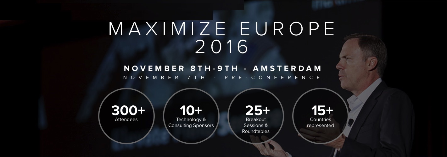 Maximize Europe 2016