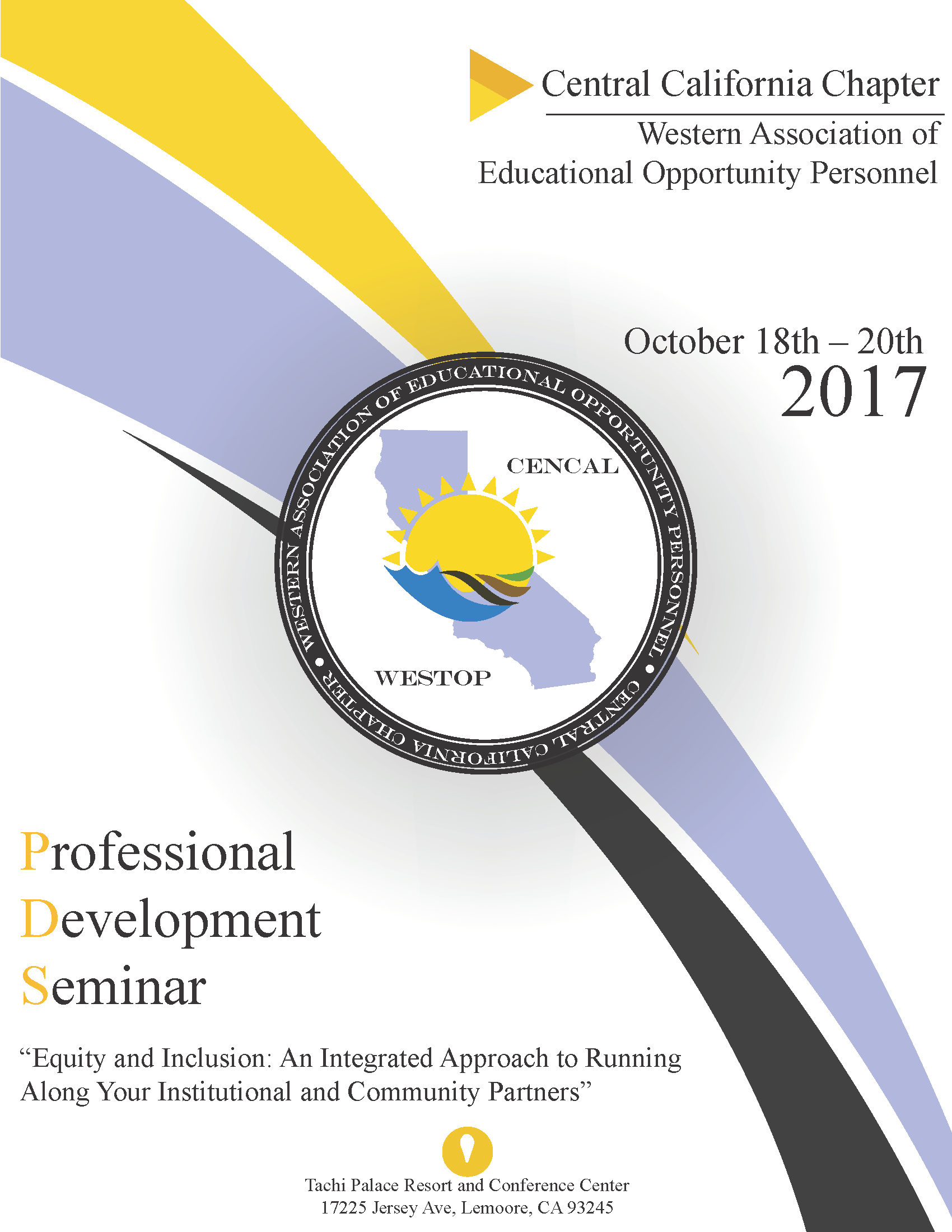 Program Cover Page
