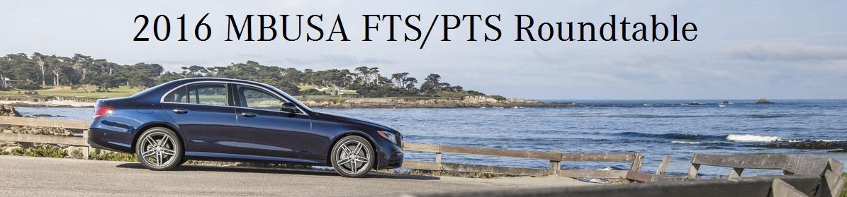 2016 Mercedes-Benz FTS/PTS Meeting