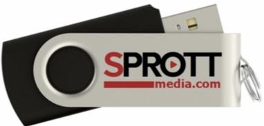 Sprott Media Branded Twister USB