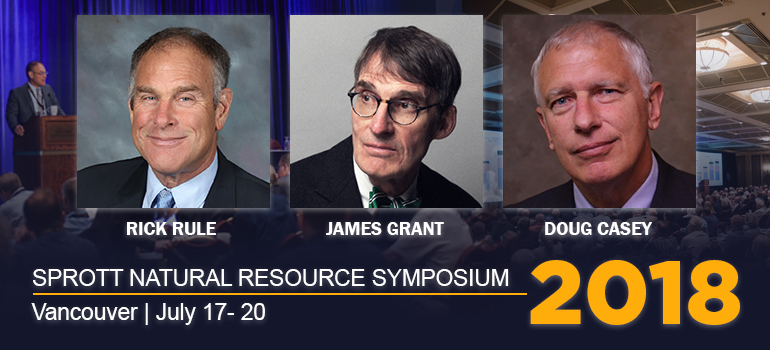 2018 Sprott Vancouver Natural Resource Symposium