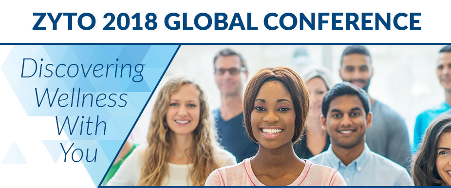 ZYTO 2018 Global Conference: Discovering Wellness with You