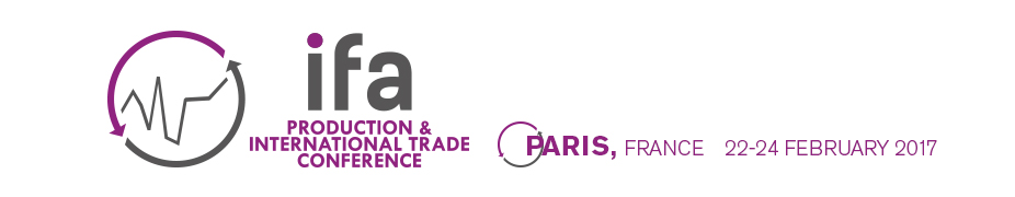 IFA Production and International Trade Conference