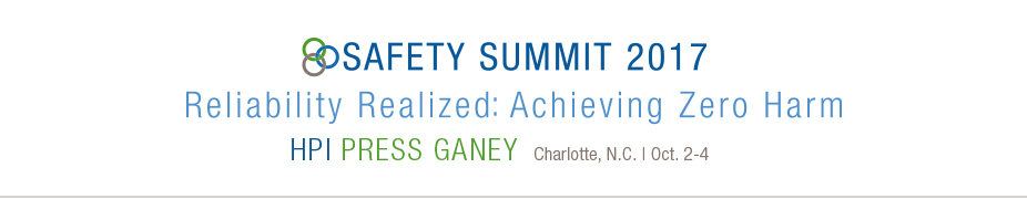 2017 HPI Press Ganey Safety Summit