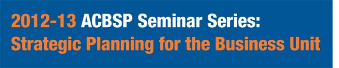 2012-2013 Seminar Banner