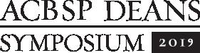 ACBSP Deans Symposium 2019