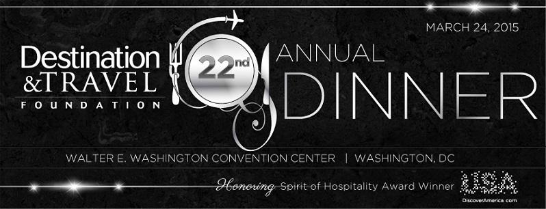 22nd Destination & Travel Foundation Dinner