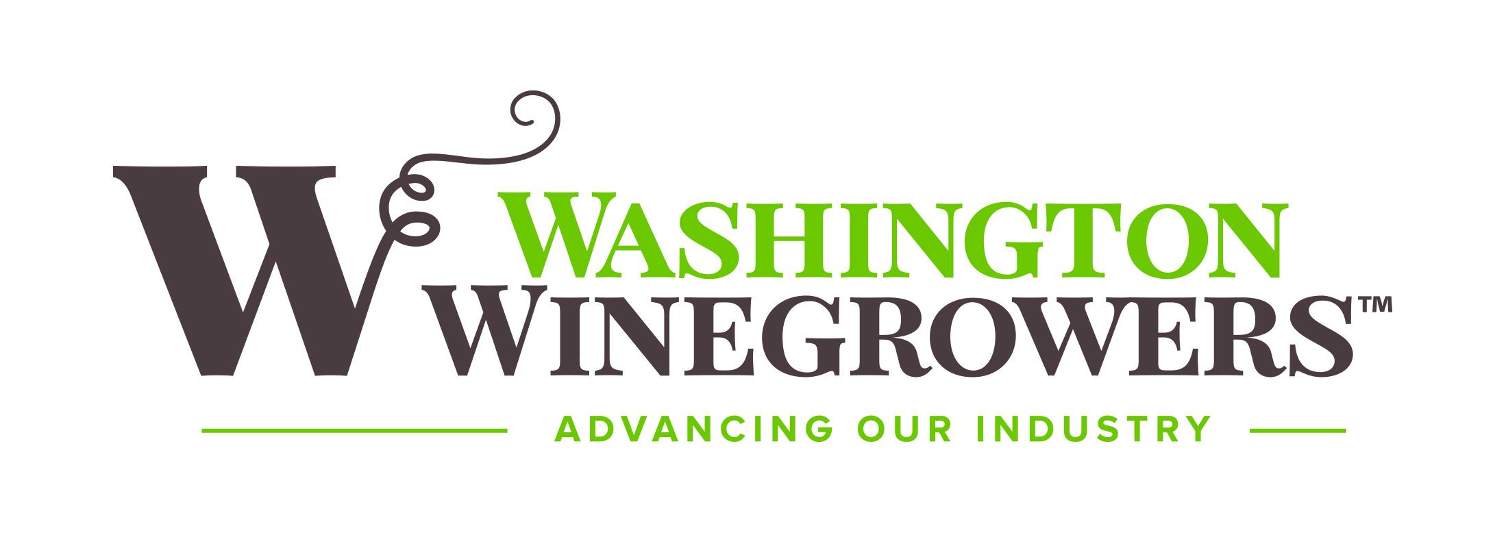 Washington Winegrowers Logo Horizontal CMYK