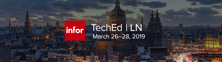 Infor TechEd for Infor LN 2019