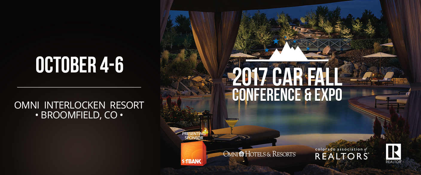 2017 CAR Fall Conference & Expo