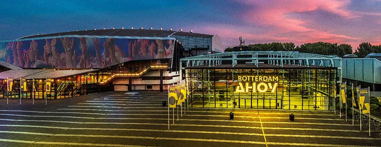 Where you'll be ROTTERDAM AHOY