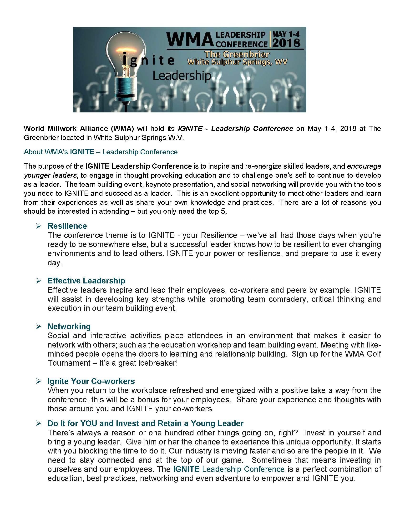 1.0 CVENT 2018 OVERVIEW PAGE FOR ILC V4 LB 12-15-1