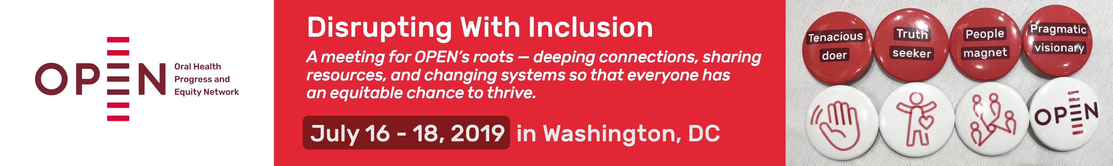 Disrupting With Inclusion: The OPEN 2019 Grassroots Summit