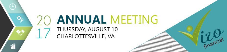 Annual Meeting Banner website