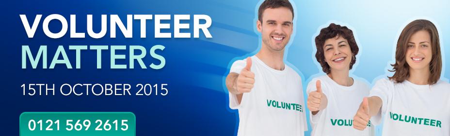 Volunteer Matters - 22nd September 2016