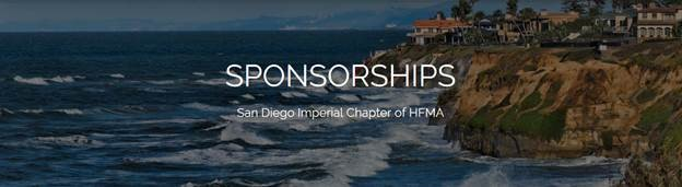 San Diego Imperial HFMA Chapter Sponsorship